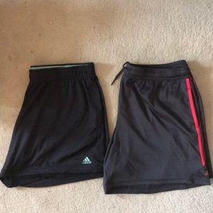 Bundle of 2 Adidas shorts